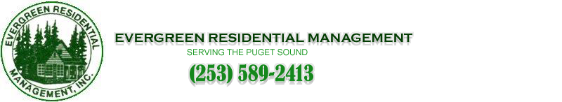 Evergreen Residential Management in University Place, Washington Mobile Logo